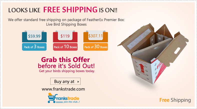 FeatherEx 10 Pack Premier Shipping Boxes